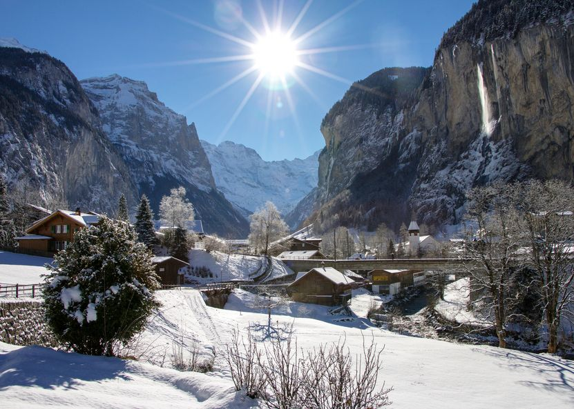 Lauterbrunnental Winter