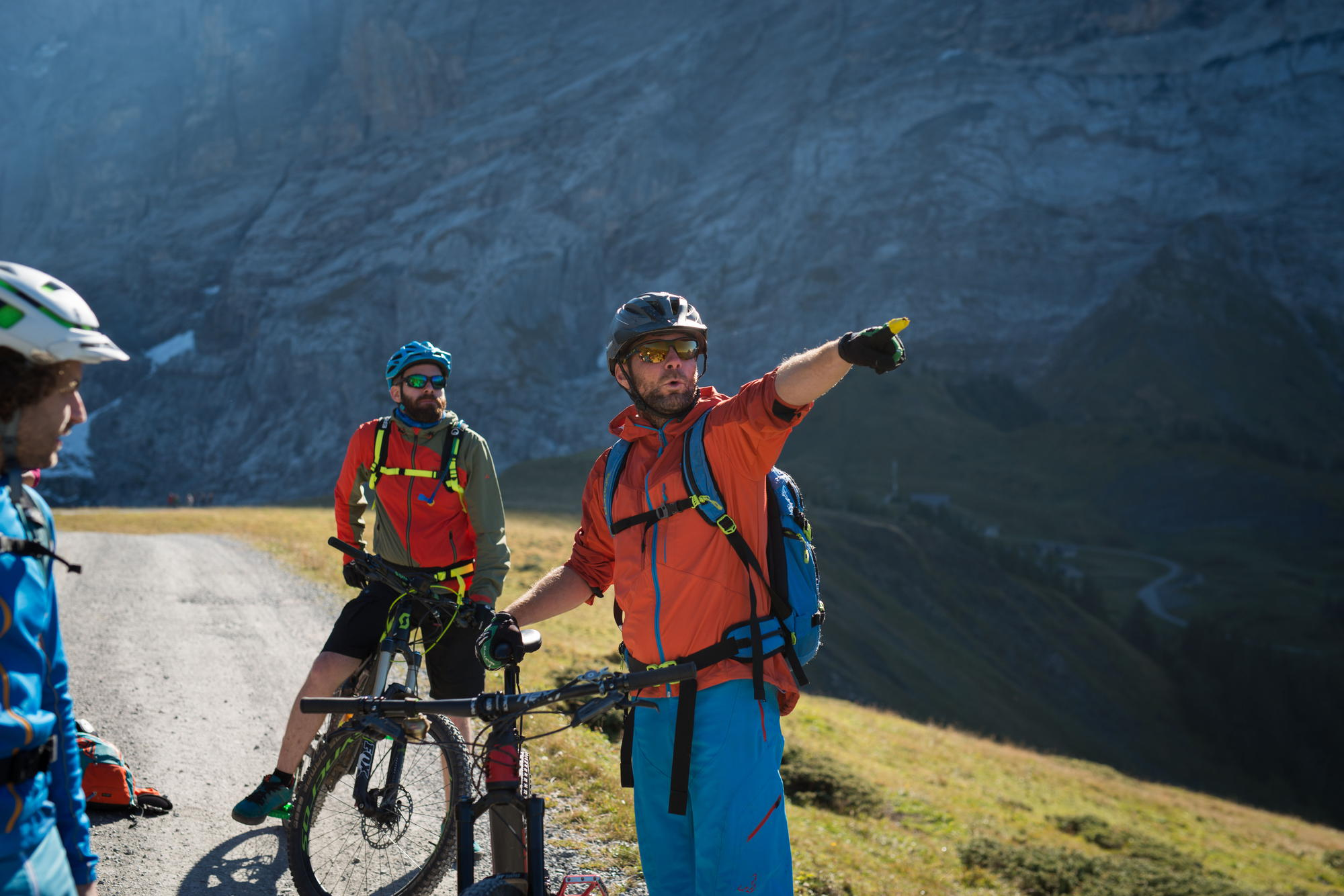 Mountainbike Guide in der Jungfrau Region